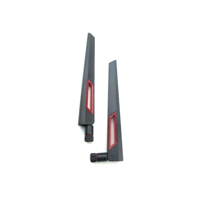 2 stücke 2,4 GHz 5,8 GHz Wifi Router Antenne 2,4G 5,8G Dual Band Antennen 5dBi für Router Repeater modem Antena SMA Männlich-weibliche Luft