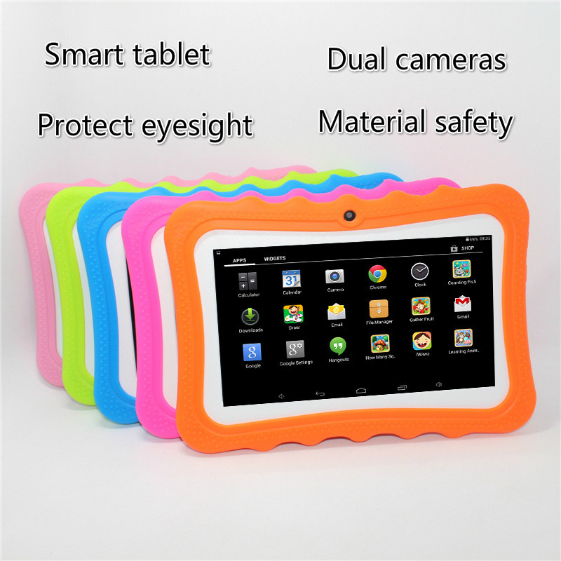 7 Inch Children's Tablet Android Dual Camera Wifi Educational Game Gift Children Music Gift Student