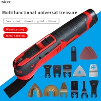 Multi function Power Tool Electric Trimmer Renovator Saw 350W Cutter Oscillating Tool With Handle Multi Purpose Blades