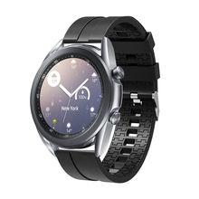 Ремешок силиконовый для samsung galaxy watch 42 мм сменный спортивный