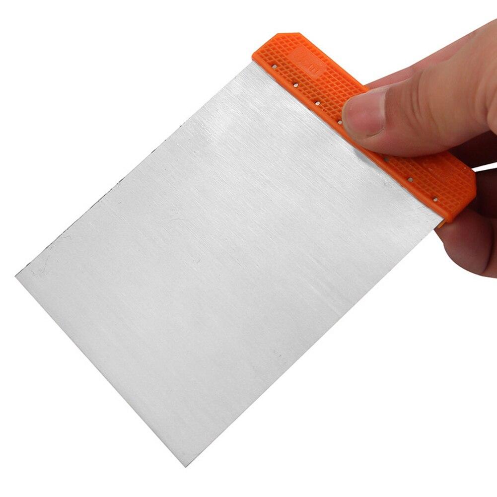 4Pcs Tools Portable Carbon Steel Cleaning Spreaders Applicator Body Filler Repair Putty Durable Sheet Scraper Set Paint
