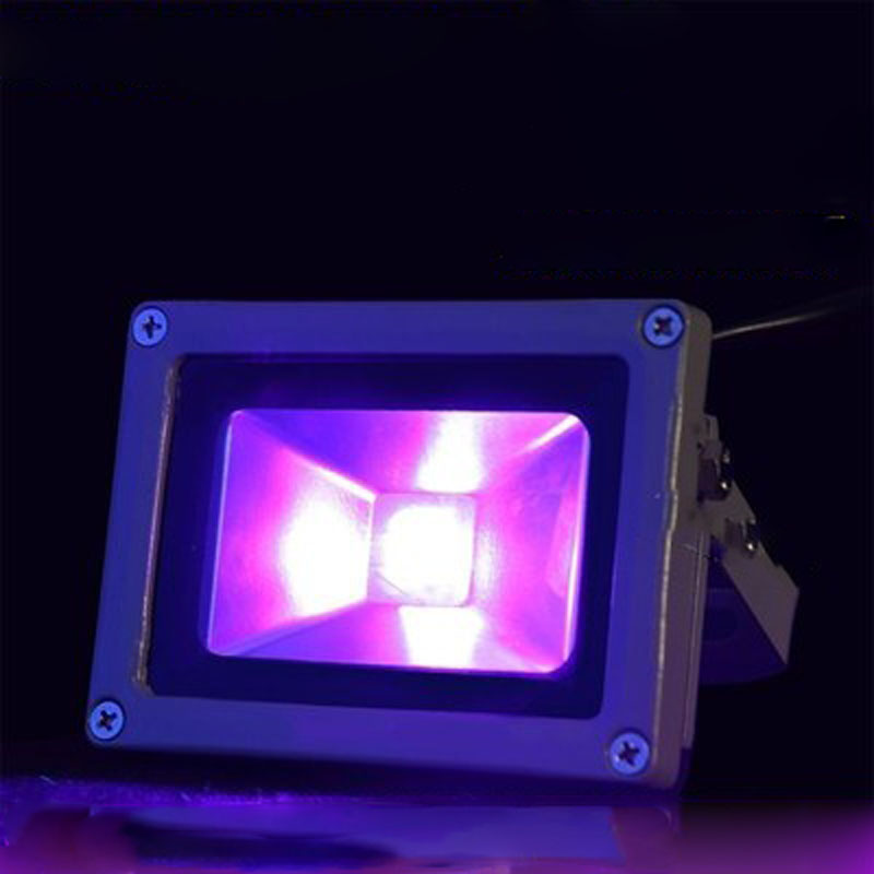 High-power 365NM 395NM UV Curing Lamp LED UV-free Glue Light-sensitive Adhesive Curing Fluorescent Detection Ink Green Oil