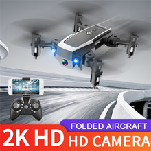 2 4g Wifi Fpv Mini Drone 2k kamera Hd profesjonalny dron składany długa żywotność zdalnie sterowany Quadcopter drony Квадрокоптер Мини cheap Perimedes NONE 1080 p hd video recording Kamera w zestawie CN (pochodzenie) Brak 15 min 4 kanały 100 meters 6 Axis Pilot zdalnego sterowania