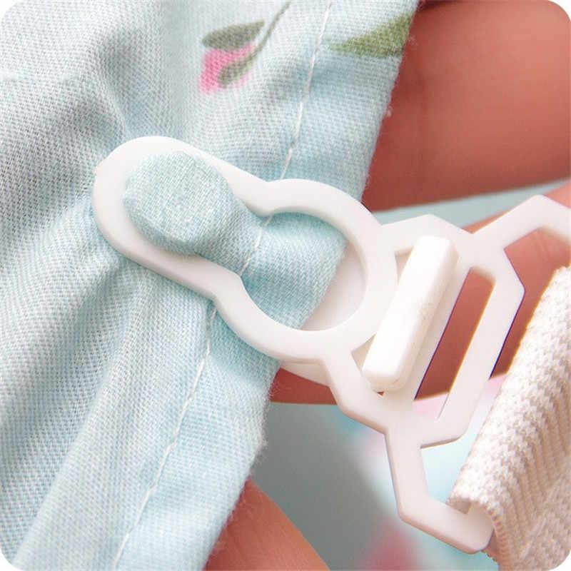 Drap de lit blanc 4 pièces | Couvertures de matelas avec pince de fixation, sangles élastiques de fixation, ceinture antidérapante