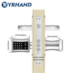 Image 4 - Tt bloqueio apsmart bloqueio diy keyless dupla substituição cilindro bloqueio tt app wi fi euro cilindro fechaduras inteligentes