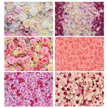 Beautiful Flowers Photo Backdrops Computer Printed Photography Background for Children Wedding Lovers Valentines Day Photophone