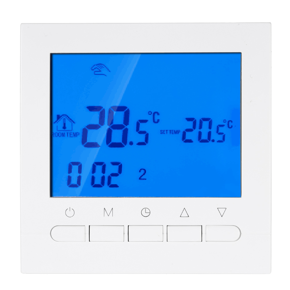Programmable Thermostat With Wifi Function Electric Heating Thermostat WIFI Temperature Controller With LCD Display