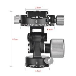 Image 5 - Andoer 2 Way Pan/Tilt Testa Treppiedi 360 ° di Rotazione Bird Watching Fotografia Testa con Piastra A Sgancio Rapido 3 livelli di bolla
