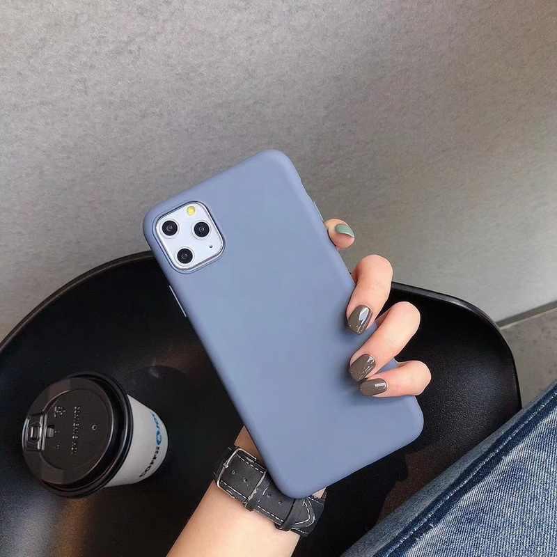 Ốp Vải Viền Mềm Dành Cho iPhone 11 Pro Max XS Max XR X 6 6S 7 8 Plus Dành Cho Samsung galaxy Note 8 9 10 S8 S9 S10 S10 Plus Funda Coque