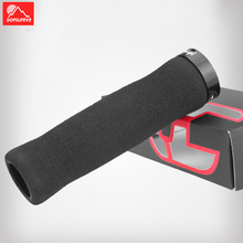 Silicone Sponge Bicycle Grips MTB BMX Road Bike Grips Bar End Anti slip Lock ON Mountain Bike Handle Bicycle Handlebar Grips special offer top carbon handlebar road cycling mountain mtb bike bicycle lock on handlebar cover handle bar end