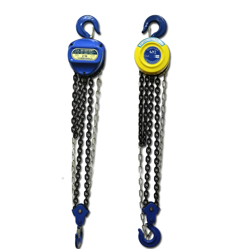 Manual Hoist Hand Hoist 1 Ton 2 Tons 5 Tons 10 Tons Lifting Chain Hoist Chain Lifting Pulley
