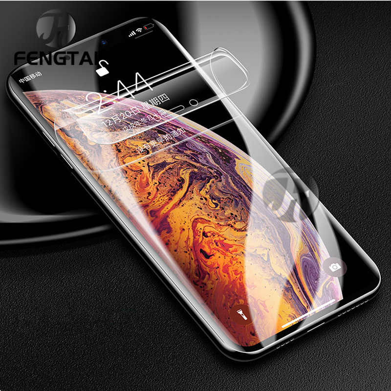 Hydrogel ฟิล์มสำหรับ IPhone 11 PRO MAX iPhone X/XR/XS MAX สำหรับ IPhone 7/8/6s/6 plus Screen Protector