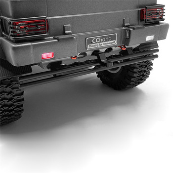Rear Bumper with Tow Hook Lamp Light 3mm LED for TRAXXAS TRX6 G63 RC Car Accessories Parts