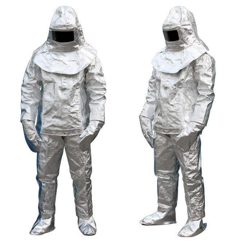 Fire Insulation Suit 500 °C HighTemperature Anti-scalding Radiation Protective Cloth Protective Insulated Fire-proof Suit DFH001