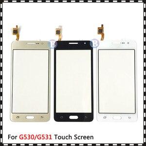 Image 2 - 20 adet/grup Samsung Galaxy Grand için başbakan Duos G530 G530H G530F G5308 G531 G531H G531F dokunmatik ekran Digitizer sensörü cam panel