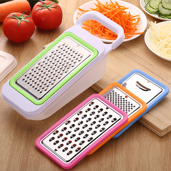 2020 Nicer Quick Stainless Steel Vegetable Dicer Chopper 5 in 1 Multi-Functional Kitchen Onion Vegetable Cutter Slicer image
