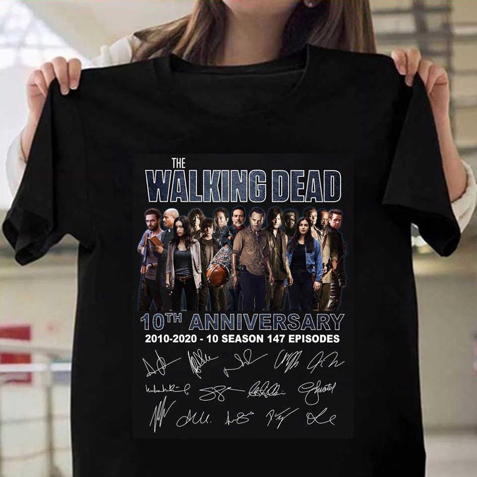 De Walking Dead Gedrukt T-shirt Vrouwen Zomer T-shirt Koreaanse Kleding Plus Siz Camisas Mujer Harajuku Tshirt 90 S Casual topstees