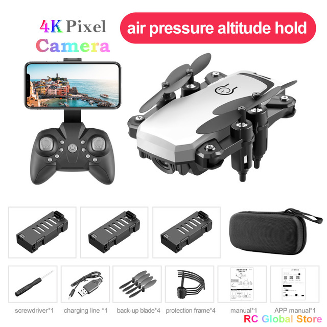 Mini Drone FPV RC Drone 4K HD With Camera RC Quadcopter Folding Drones Altitude Hold Mini Helicopter For Kids Toys