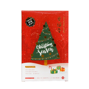 Image 5 - 60pcs Christmas Postcards Set Gift Cards Postales Cute Santa Snowman Post Card Holidays Decorative DIY Wholesale