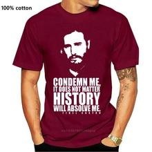 Fidel Castro T Hemd Revolution Kuba Kommunistischen Tribut Che Politische T-shirt Kurzarm Grund Tops Top T Tier