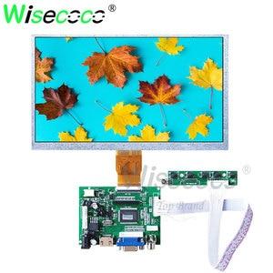 Wisecoco 9 дюймов 50pins антибликовый ЖК 800x480 для портативного DVD-плеера цифровая фоторамка с vga hdmi плата драйвера AT090TN12