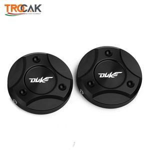 Image 5 - For KTM DUKE 125 200 250 390 690 990 1090 1190 1290 2013 2019 Motorcycle CNC Aluminum Front Fork Suspension Top Cover Cap