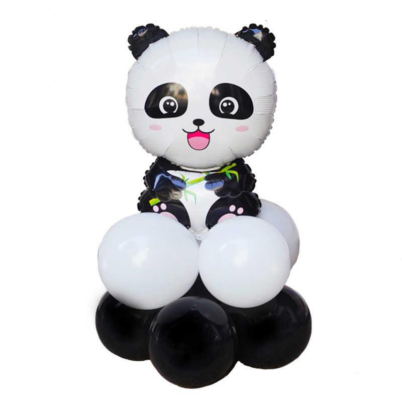 1 Pc Cartoon Panda Ballonnen Verjaardagsfeestje Dier Thema Decoratie Kinderen Party Opblaasbare Speelgoed
