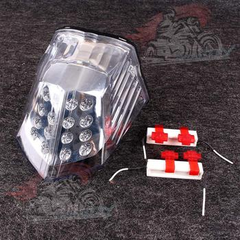 Motorcycle LED Taillight Integrated Turn Signals For YAMAHA XJ6 2009-2012 10 11