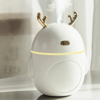 Lovely Deer Air Humidifier USB Ultrasonic Cool Mist Maker Fogger LED Light Mini Aroma Diffuser Essential Oil Humificador|Humidifiers|Home Appliances -