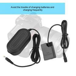 Carregador Adaptador de Energia AC DC Acoplador para Substituir EN-EL14 EP-5A para Nikon D5100 D5200 D5300 D5500 D5600 D3100 D3200 D3300 D3400