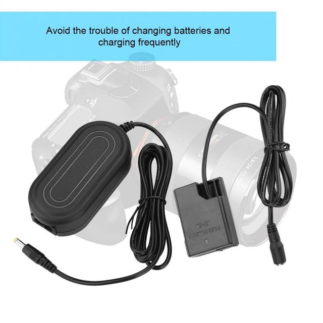 EP 5A AC Power Adapter DC Coupler Charger Replace for EN EL14 for Nikon D5100 D5200 D5300 D5500 D5600 D3100 D3200 D3300 D3400