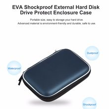 "Portable 2.5"" External Storage USB Hard Drive Disk HDD Carry Case Storage Bag for Small Accessories(China)"