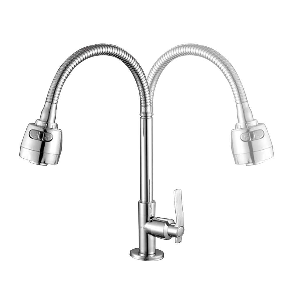 Kitchen Tap Head Flexible 360° Rotatable Faucet Water Saving Filter Sprayer US
