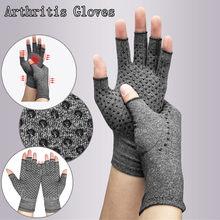 Guantes para artritis de compresión, de algodón, alivio del dolor articular, pulsera terapéutica para hombre y mujer
