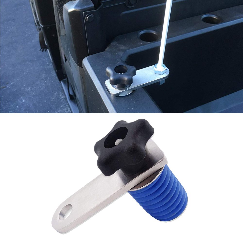 Lock and Ride Tie Down Anchors Quick Release For LED Whip/Rear Light/Flag Mount Bracket Fit UTV ATV Polaris Ranger and General