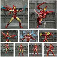 "Marvel 6 ""Iron Man MK50 MK85 figurine Ironman Nano Mark 50 85 Tony Stark KO's SHF Avengers Endgame Infinity War Toys Doll"