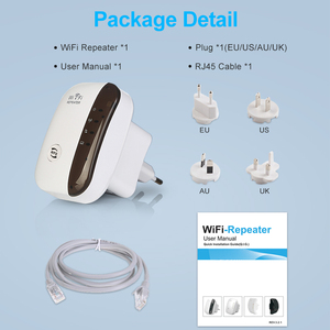 Image 5 - واي فاي مكرر موسع واي فاي 300Mbps مكبر للصوت معزز Wi Fi واي فاي إشارة 802.11N طويلة المدى اللاسلكية واي فاي مكرر نقطة الوصول