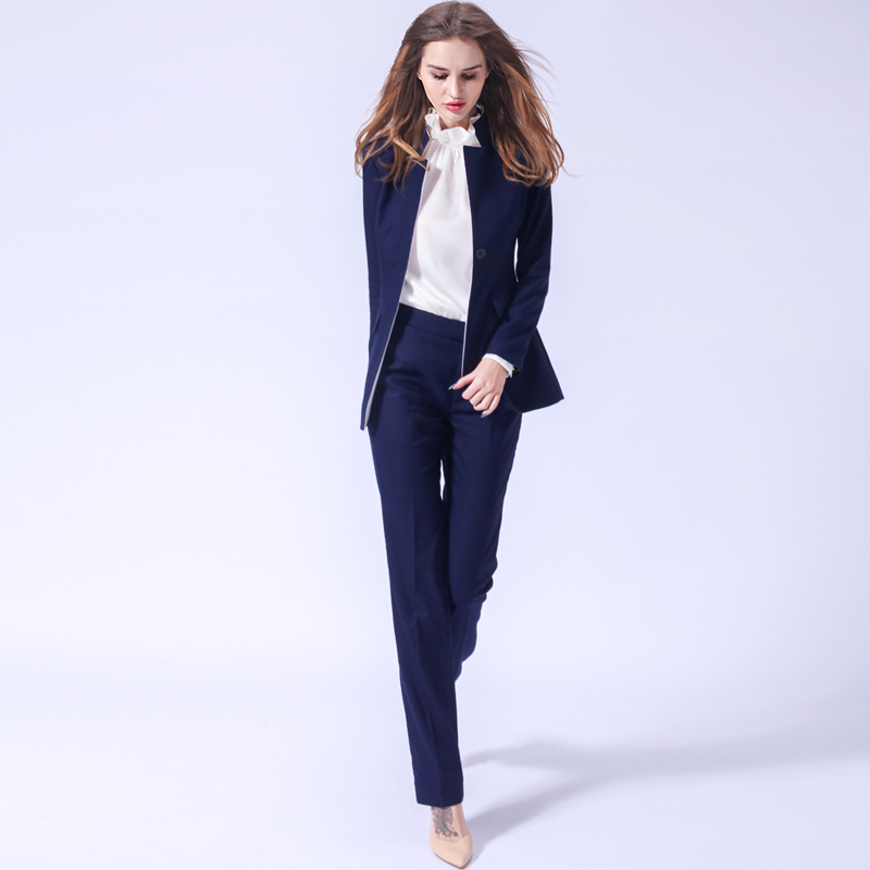 USPECIAL European And American Professional Pants Suit Tooling Overalls Suit Single Piece Three-piece Set Medium And Long Ol