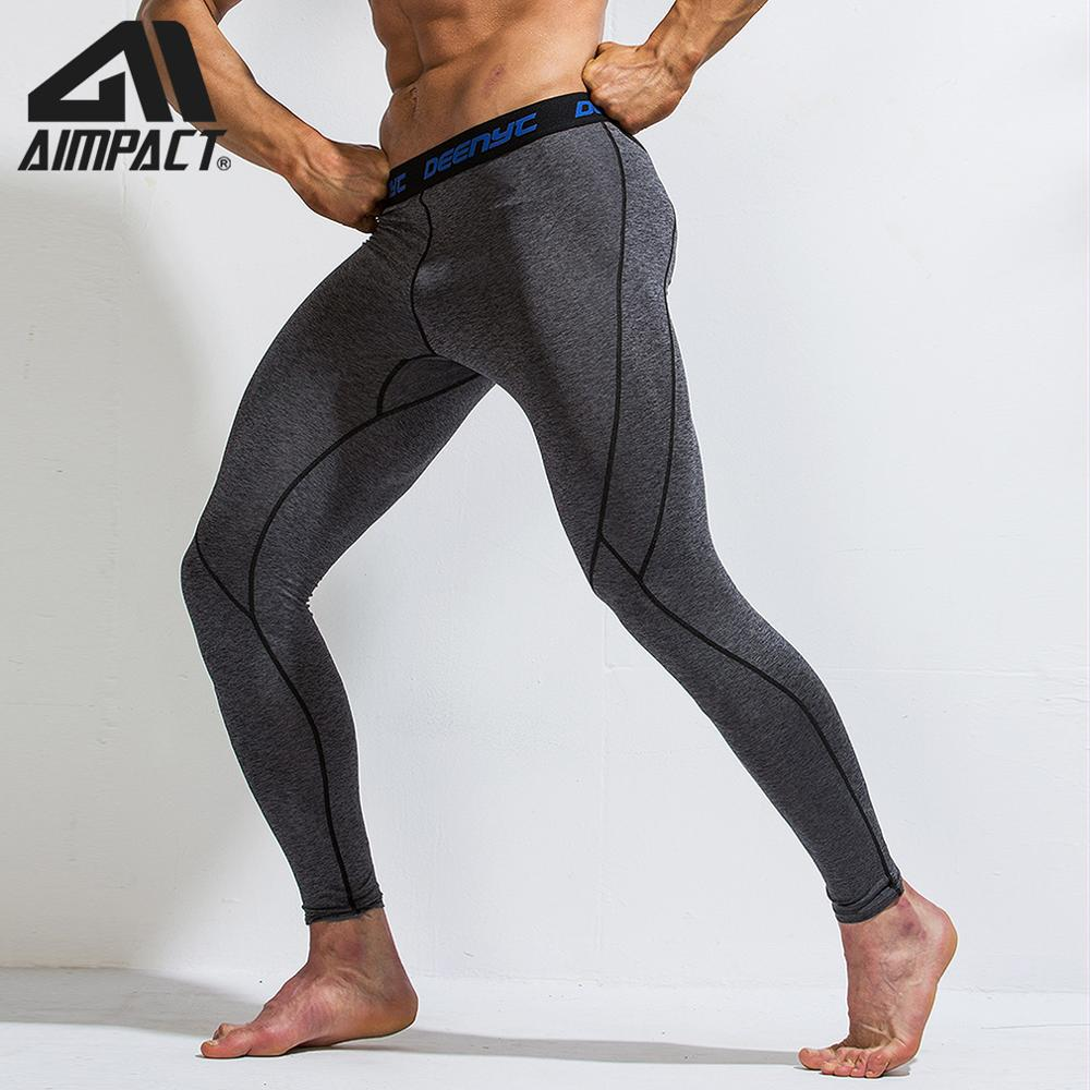 Sport Compression Pants Men Athletic Fitness Running Tights Bodybuilding Training Workout Gym Yogo Leggings Outdoor Quick AM5118