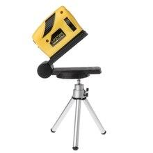 4в1 360 градусов вращающийся лазерный уровень самонивелирующийся крест-линия измерения+ штатив Стенд LS'D инструмент