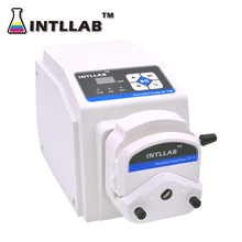INTLLAB Peristaltic Pump with Step Motor 110-240V, High Accuracy/Precision, High Flow Rate, BT100J/YZ15