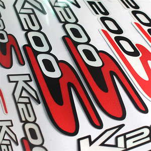 Image 4 - For BMW K1200S k1200 s k 1200s k 1200 s k1200s   Motorcycle body Decoration Stickers Front Rear Fairing Decal Reflective Sticker
