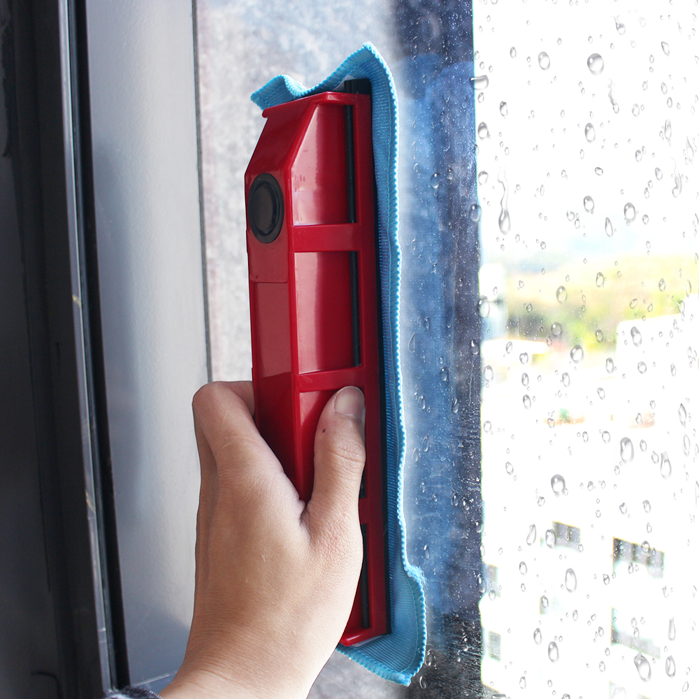 Double Side Magnet Window Cleaner Glass Cleaner Fits For 3-28mm Glazing Cleaning Tool Efficient Thick Glass Wiper 3