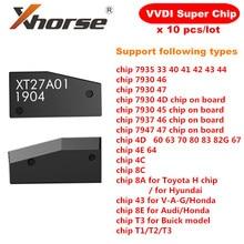 Transponder eccellente originale XT27A01 XT27A66 del Chip di Xhorse VVDI per VVDI2 VVDI Mini strumento chiave 10 pz/lotto