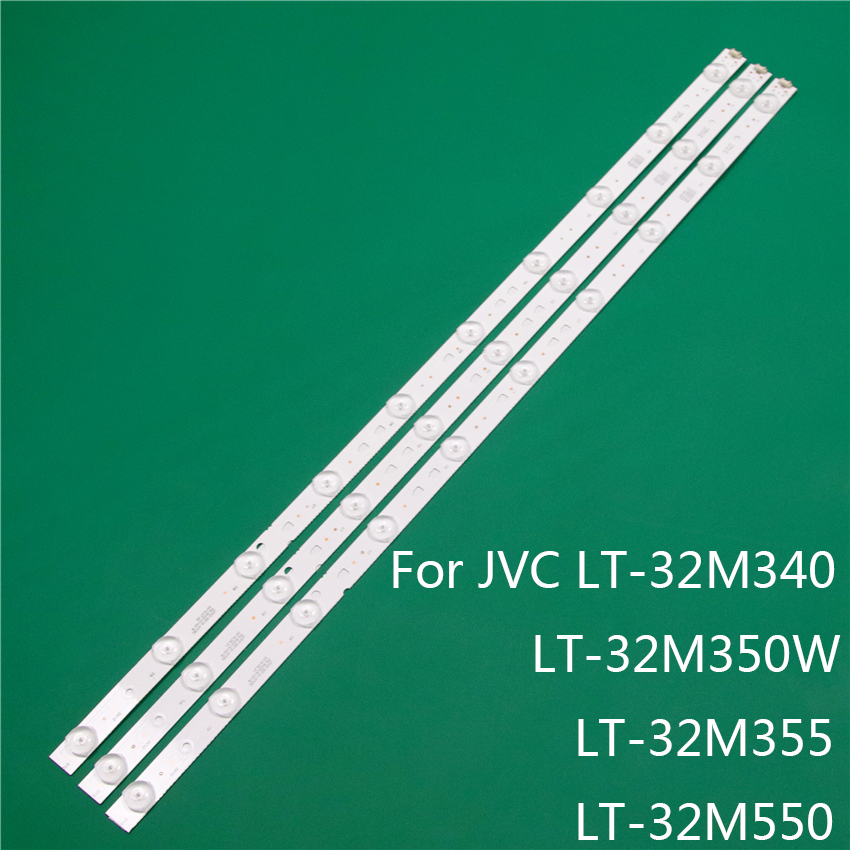 LED TV Illumination For JVC LT-32M340 LT-32M350W LT-32M355 LT-32M550 LED Bar Backlight Strip Line Rulers LSC320AN10-H LC320DXJ