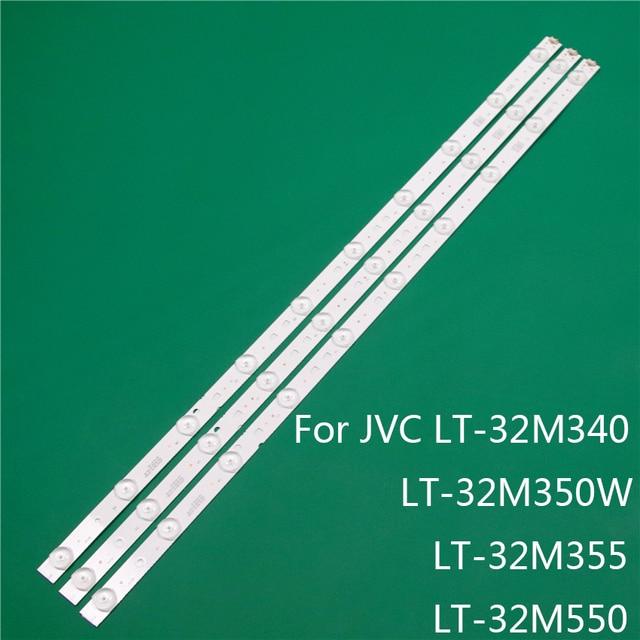 LED TV Illumination For JVC LT 32M340 LT 32M350W LT 32M355 LT 32M550 LED Bar Backlight Strip Line Rulers LSC320AN10 H LC320DXJ