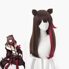 Anime Game Arknights Cosplay Winter Zima Costume Wigs Party