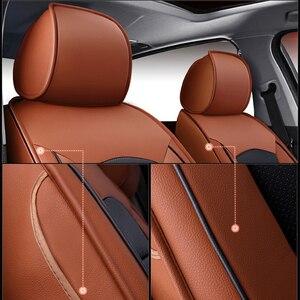 Image 2 - Kokololee de Real Cubierta de Asiento de Cuero de Coche para Audi TT R8 A1 A3 8P 8l Sportback A4 A6 A5 A7 A8 A8l Q3 Q5 Q7 Auto Accesorios