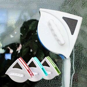Image 1 - فرشاة مزدوجة الجانب المغناطيسي مُنظف نوافذ لغسل النوافذ تنظيف الزجاج المنزلية غسل نافذة ممسحة المغناطيس الزجاج الأنظف