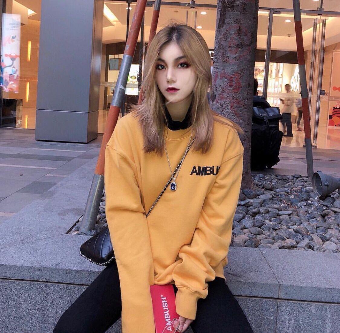 New AMBUSH Hoodies Men Women Oversize Streetwear Stranger Things Sweatshirt Skateboard Hoodie Pullover